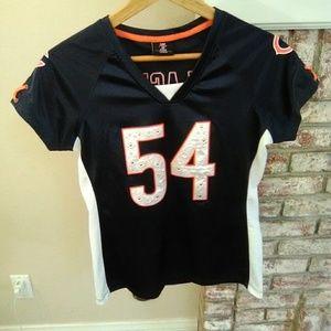 Team Apparel Women's NFL  Bears Urlacher Jersey